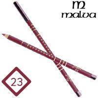 Malva Cosmetics Карандаш M-319 дерево для губ Lip Contour Pencil Тон №023 pecan, матовый