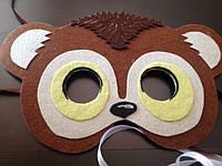 Карнавальная маска  Руди для сюжетно ролевых детских игр Юхо и его друз, фото 1