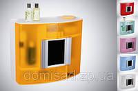 Шкаф-аптечка с зеркалом для ванной
