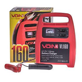 Зарядное устройство для автомобильного аккумулятора Voin VL-160