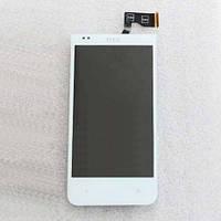 Дисплей для HTC Desire 300 с сенсорным экраном white Original