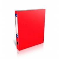 Папка-реєстратор А4 Economix на 4 D-кільця, 50мм, червона