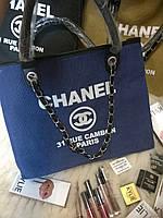 Сумка Chanel холст текстиль