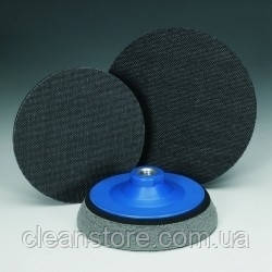 Насадка для полировочных кругов на липучке с пористым каучуком, фото 2