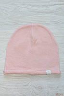 Шапка для девочки Мелоу розового цвета