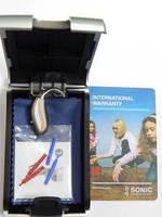 Миниатюрный заушный слуховой аппарат CHEER (ЧИР) 20 Nano BTE с рожком