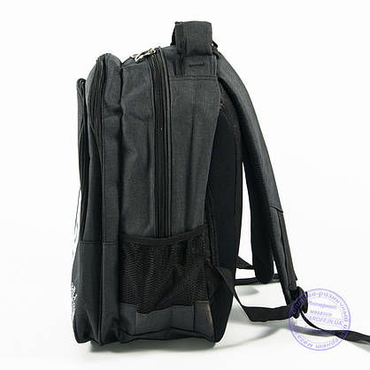 Спортивный рюкзак Адидас - т. серый - 963, фото 3
