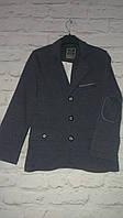 Пиджак трикотажный для мальчиков на рост 146-164