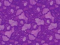 Стрейч-гипюр CHRISANNE (Англия) фиолетовый (cascade purple rain)