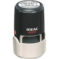 Оснастка для круглої печатки Ideal 400R, Ø 40 мм, корпус: синій/cірий,