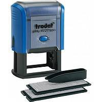 Оснащення TRODAT Printy 4929, 50х30мм, корпус: синій (Австрія)
