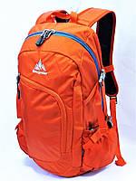 Спортивный городской текстильный рюкзак ONE POLAR 2171 оранжевый