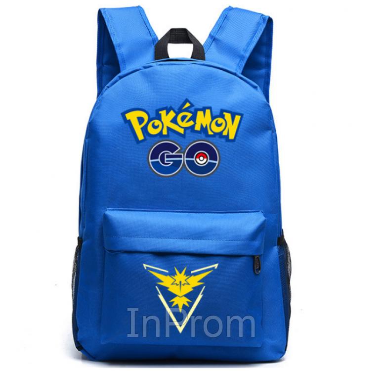 Рюкзак Pokemon Go Blue Yellow