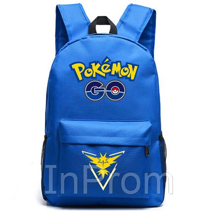 Рюкзак Pokemon Go Blue Yellow, фото 2