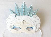 Карнавальная маска Снежна королева для сюжетно ролевых детских игр