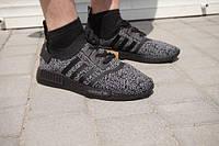 Мужские кроссовки Adidas Originals NMD Runner темно-серые