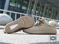Мужские кроссовки Adidas Yeezy Boost 350 Oxford tan бежевые