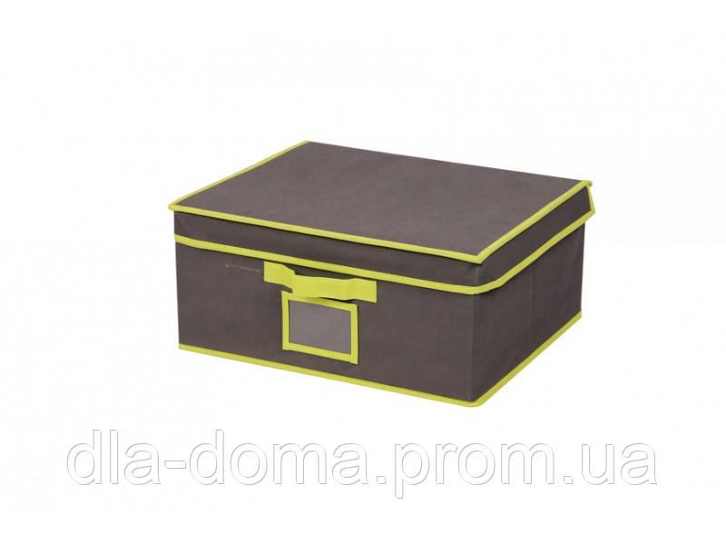 Коробка для хранения вещей с крышкой и PVC окошком