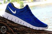 Мужские повседневные кроссовки NIKE Free Run 2.0 синие Подробнее