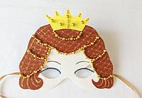 Карнавальная маска Королева для сюжетно ролевых детских игр