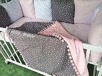 Бортики(защита) в детскую кроватку