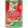 Консервы Darling для кошек с кроликом и уткой, 400 г
