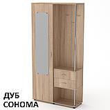 Прихожая Надежда Одесса узкая небольшая, ДСП и МДФ, фото 7