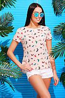 Блуза MarSe 1729 (42-50) розовый
