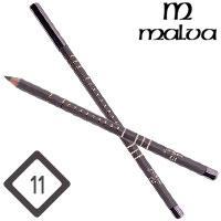 Malva Cosmetics Карандаш M-319 дерево для глаз Eye Contour Pencil Тон №011 grey матовый