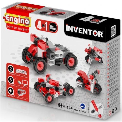 Конструктор серии INVENTOR 4 в 1 - Мотоциклы 0432