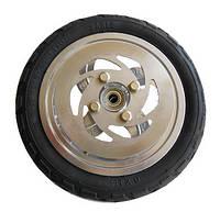 Колесо надувное 205 мм c тормозным диском для самоката Hudora Big Wheel 205 Dual Break Air
