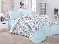 Двуспальное евро постельное белье Brielle 904 V2 Ранфорс