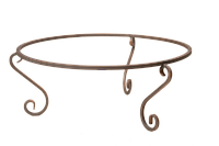 Подставка кованная для вазона, уличного горшка, термочаши Ф750