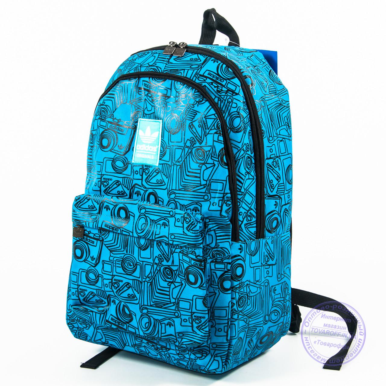Спортивний рюкзак Adidas - блакитний - 605