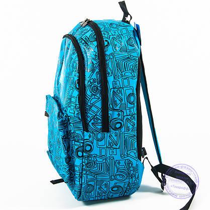 Спортивний рюкзак Adidas - блакитний - 605, фото 3