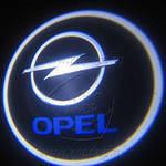 Диодная подсветка дверей с логотипом авто Opel, фото 1