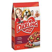 Darling корм для собак с мясом и овощами, 3 кг