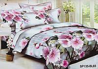 Двуспальный комплект постельного белья Шиповник