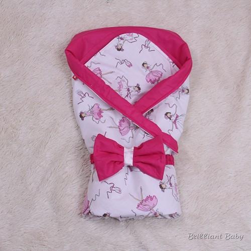 """Летний конверт-одеяло """"Valleri"""" (баллерины)"""