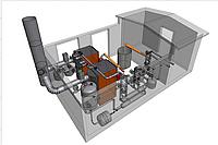 Автономная блочная модульная котельная на твердом топливе (БМК) IGNIS