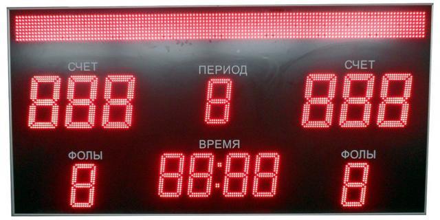 Светодиодные спортивные табло