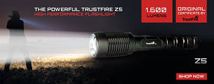 Светодиодные фонари Trustfire (Ultrafire)