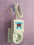 Терморегулятор TESSLA TRTime с таймером и счетчиком рабочих часов, фото 3
