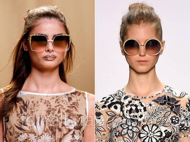 Модные солнечные очки 2017 года с градиентными линзами