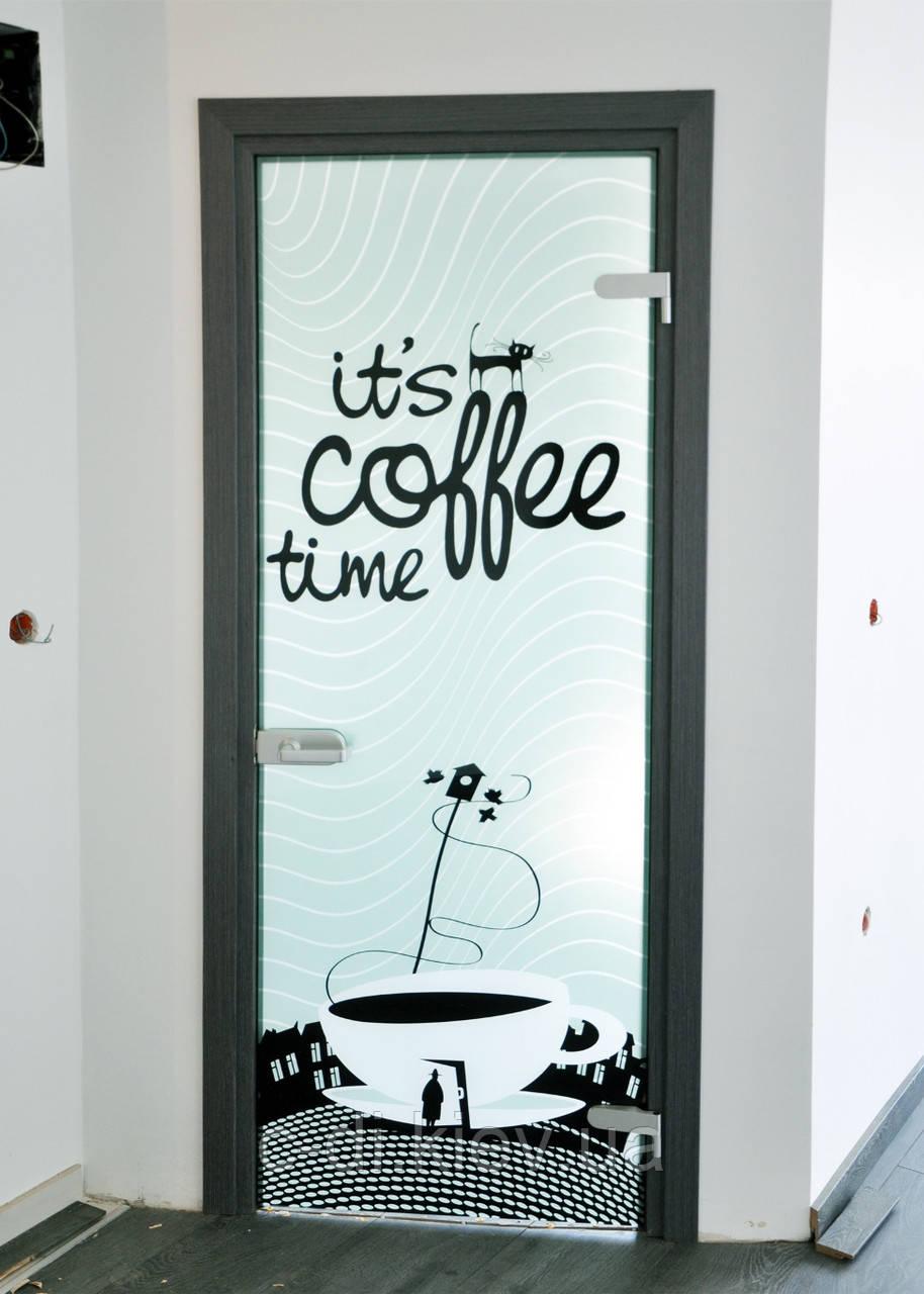 Стеклянные межкомнатные двери - ООО «Стекло-Дизайн Интерьера» в Киеве