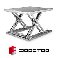 Оцинкованный подъёмный стол