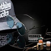 Женские стильные очки капли Hend Made голубые