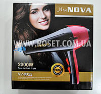 Фен профессиональный домашний для волос - Fashion Hair Dryer New Nova NV-9022 2300W, фото 1