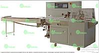 Горизонтальные упаковочные машины Флоу-пак (HFFS) с нижней подачей пленки с шагающим отрезным ножом 051.55.350