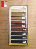 """Воск мебельный """"WoodMix"""" (деревоподобные цвета + белый и чорный), 10х8 см"""